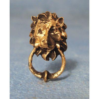 Lion Head Knocker Resin