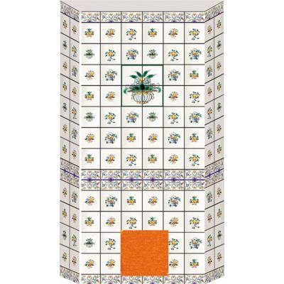 Tiled Oven Sheet Green