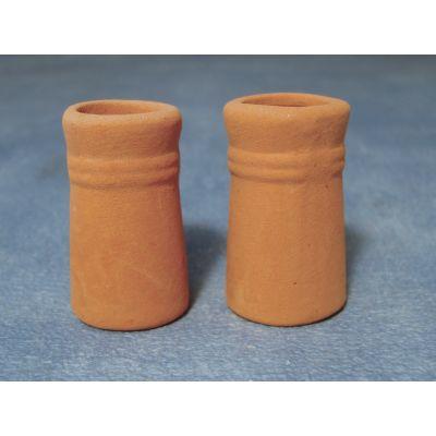 Small Round Chimney Pots pk2