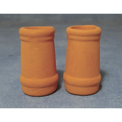 Medium Round Chimney Pots pk2