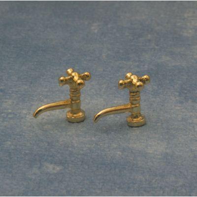 Antique Brass Taps pk2