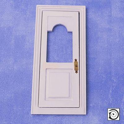 Front Door, white,   168 x 74mm