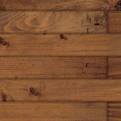 A3 gloss card old dark pine floorboards,