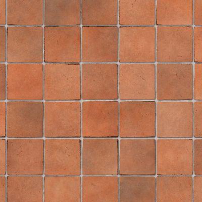 Terracotta small tiles, A3 card