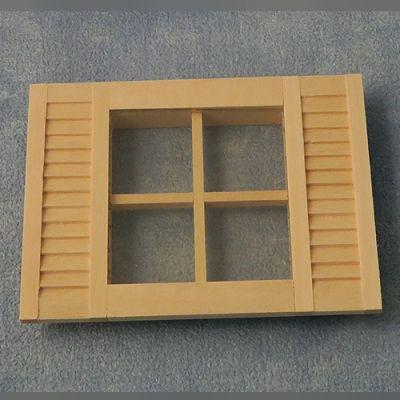 Shuttered Window 105/80mm