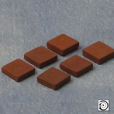 Terracotta tiles, 50 pieces