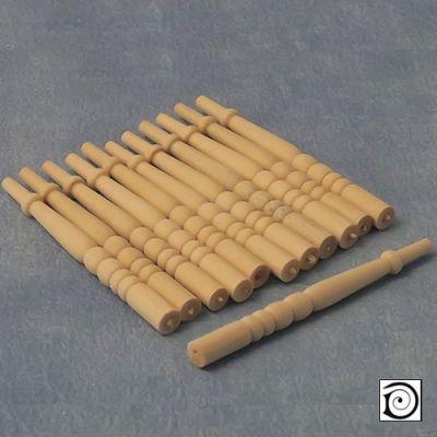 Spindles, Pk12 , 68mm long x 5mm dia