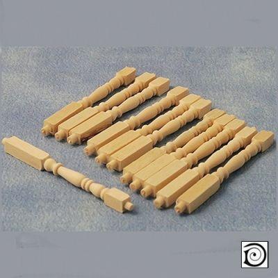 Spindles, Pk12 , 65mm long x 5mm dia