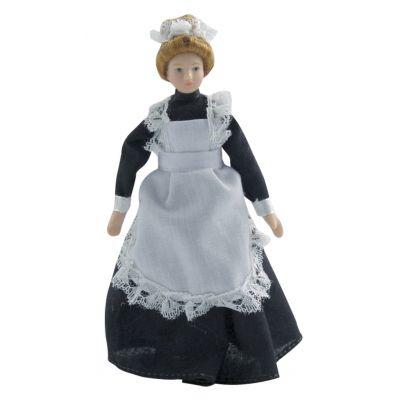 Maid in Black Dress