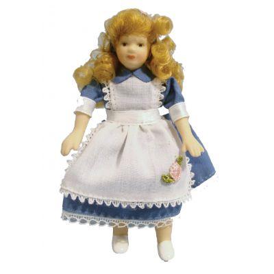 Girl in Alice Dress