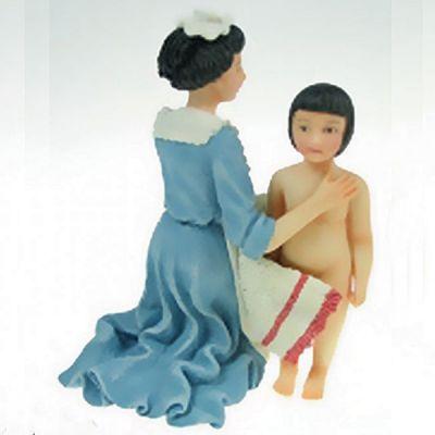 Maid Drying Girl