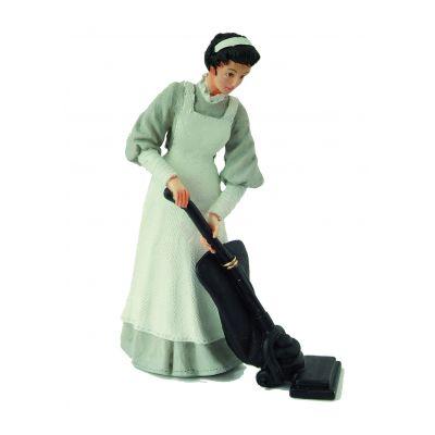 Maid Vacuuming