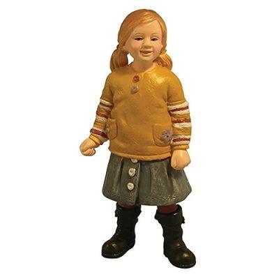 Modern Little Girl in Skirt