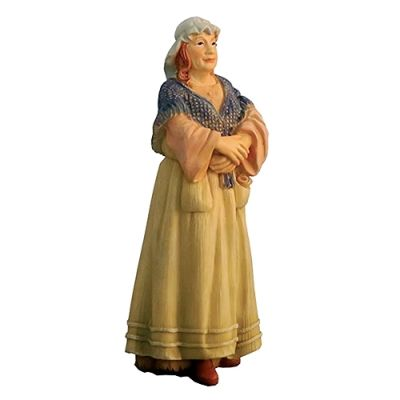Old woman 115mm tall