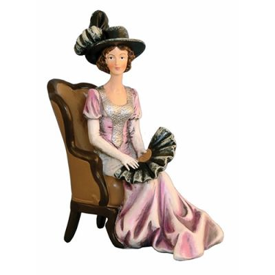 Sitting Lady with Chair  DP356