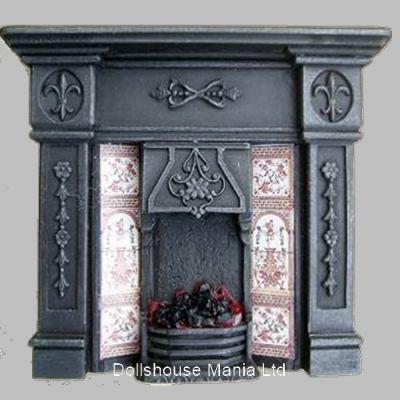 Lit Fireplace ( F15C)