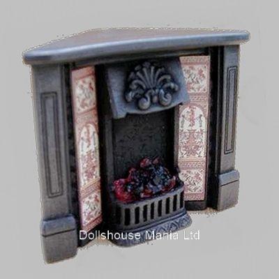Lit  Corner Fireplace (F5C)