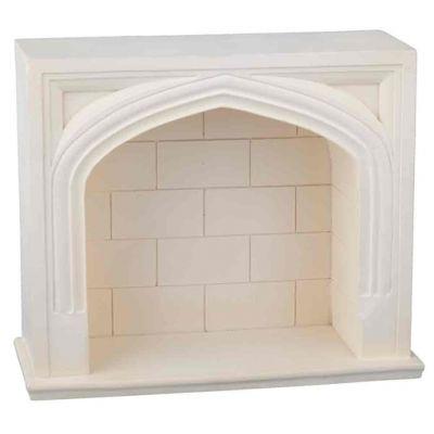 Resin Tudor Fireplace