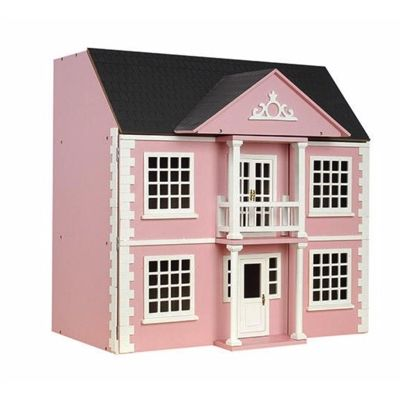 Newnam Manor Dolls House, painted pink.
