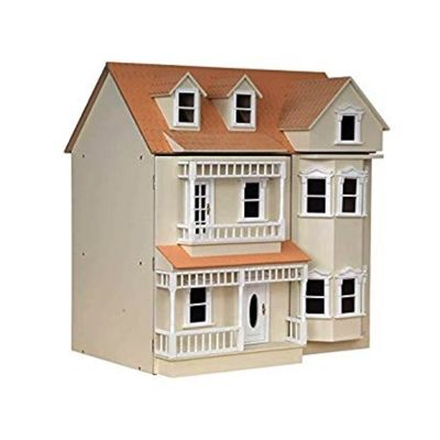 The Exmouth Dolls House, Cream (BUILT..COLLECTION ONLY)