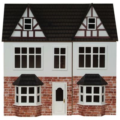 Orchard Avenue Dolls House, painted.