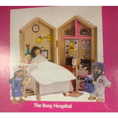The Busy Pink Hospital