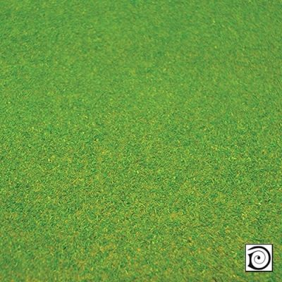 "Landscape mat No 15, medium green grass, 48"" x 24"""