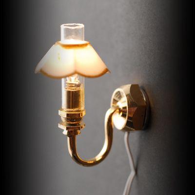 Single Candle Shade Lamp