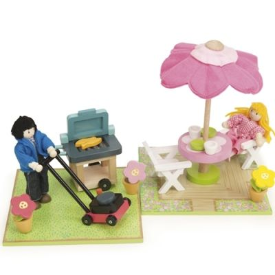 Patio & BBQ Set (ex figures)