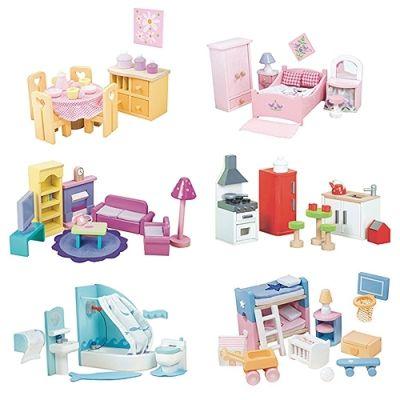 Sugar Plum Furniture Sets (6 Rooms)
