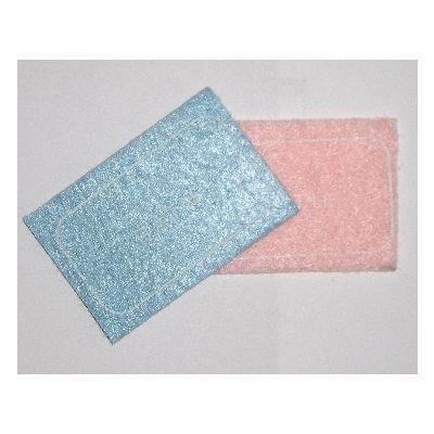 Pink & Blue Bath Mats