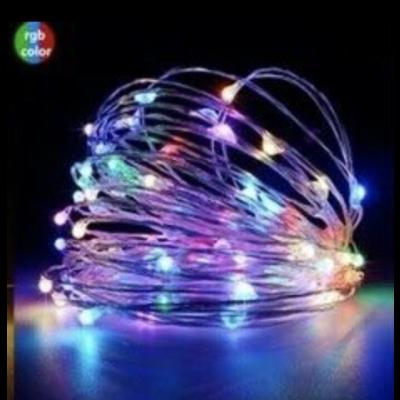 2M 20 LED Battery Fairy Lights Multi-coloured