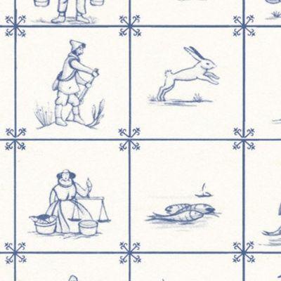 Delft Tile paper A3