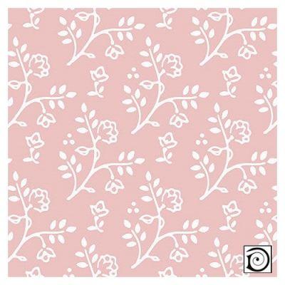 Julia white on pink