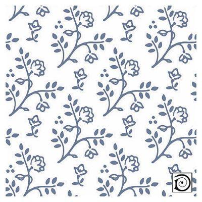 Julia blue on white