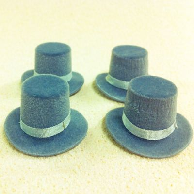 Top Hat (Grey), each